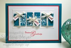 Snow Swirled Embossed OSW by magpiecreates - Cards and Paper Crafts at Splitcoaststampers