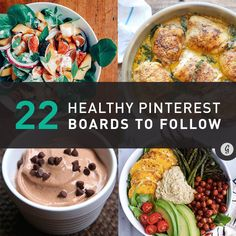 To help you sort through the stacks of pancakes and sprinkle-covered everything, here are the 22 best Pinterest boards to follow for all the healthy eating inspiration you'll ever need.