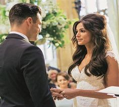 Michelle Keegan wedding hair goals!