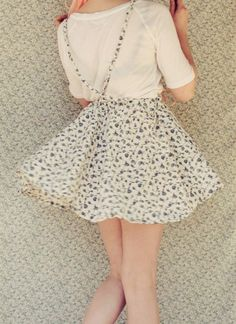 DIY Suspender Skirt - FREE Sewing Pattern and Tutorial by The Pineneedle Collective