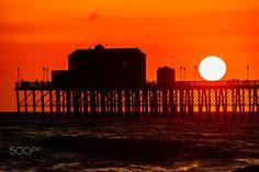 Sunset at Oceanside Pier - April 8, 2017 - Oceanside Pier    April 8, 2017     ©2017 Rich Cruse / CrusePhoto.com