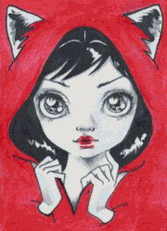 Modern Cross Stitch Kit By Simona Candini 'Little by GeckoRouge