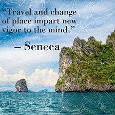 Travel inspiration from #Seneca #TravelBrilliantly
