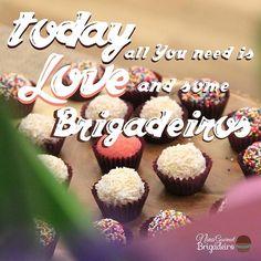 Today all you need is love and more Brigadeiro! #Tuesday #Brigadeiro…