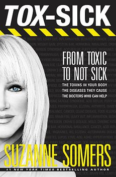 "Judith D. Collins, Book Reviewer and Blogger | Tox-Sick 4/16/2015 ""It's as if we are all on a big, chemical drunk, and the hangover is a killer."" —Suzanne Somers, in TOX-SICK  Pioneering health and wellness advocate, Suzanne Somers, delivers a powerful answer in this expose on the immediate and long-term dangers of living in a world that has become increasingly toxic to our health.  The build-up of toxins in our bodies can lead to"