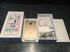 ***Apple iPhone 5S GOLD Dobozos!***
