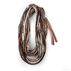 Brown Scarf - Infinity Scarf Organic - Brown Spring Scarf - Circle Scarf Scarves - Fabric Necklace Womens Mens Necklace Fabric Jewelry Loop. $44.00, via Etsy.