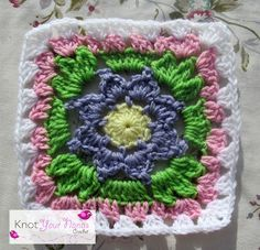 Knot Your Nana's Crochet: Granny Square Crochet Along Revisited (Week Four)