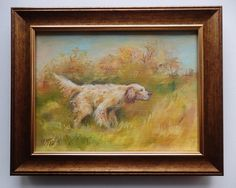 Original oil PAINTING Autumn LANDSCAPE with by CanisArtStudio