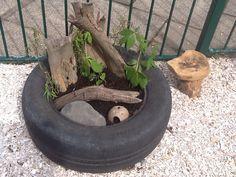 Small world tyre EyFs