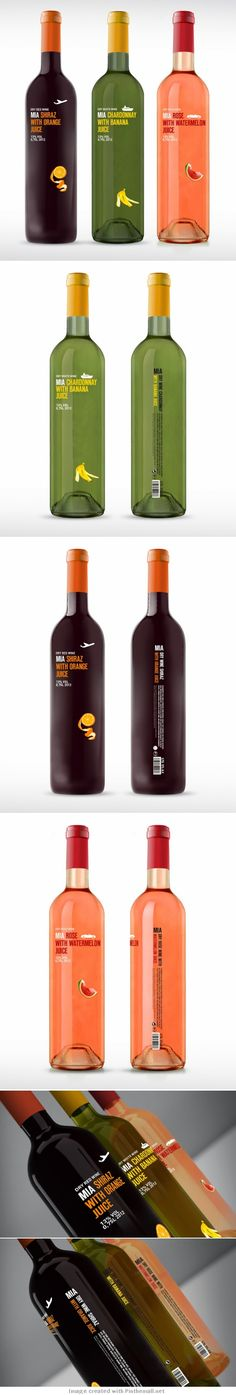 More MIA #Fruit wine #packaging PD