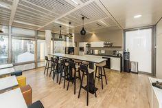 #mobilier #architecte #espace #aménagement #espace #cafétéria #paris #surenes #france #cléram