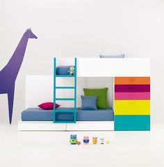 BM 2000. Dormitorios infantiles y juveniles. http://muebleskimobel.com