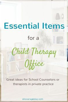 Essential items that are helpful for school counselors and child therapists #schoolcounselor #therapy #playtherapy #counselor