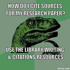 How do I finish my research paper off?