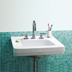 Sanitize faucets, where germs and flu viruses collect fast. Wipe them down with a 3 percent hydrogen peroxide solution or try wipes that use plant oils to kill germs and viruses, such as EPA-certified Seventh Generation Disinfecting Wipes. thisoldhouse.com   from 10 Ways Your Bathroom is Making You Sick