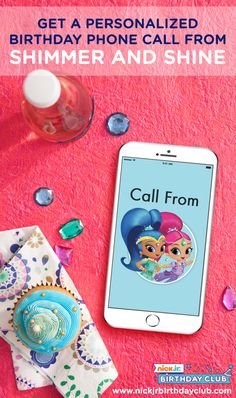 Planning a Shimmer and Shine birthday party for your preschooler? Schedule a personalized phone call from twin genies Shimmer and Shine with the Nick Jr. Birthday Club to surprise and delight your little one. Then, get party planning tips, printable party goods, and much more. It's sure to be a shimmering, shining day!