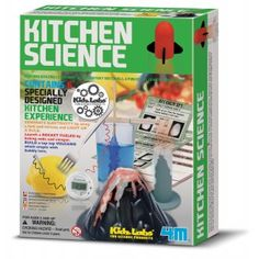 Kitchen Science — Perform amazing experiment with everyday materials. A fun filled kit filled with inspiration. Contains 6 specially designed kitchen science experiments. Generate electricity by using a fork and tomato and light up a bulb. Chemistry Experiments, Chemistry Labs, Science Kits, Science Topics, Science Party, Science Fun, Science Videos, Science Chemistry, Science Resources