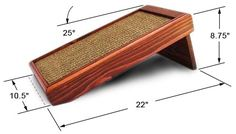Purrfect Scratchers - The Purrfect Angle Info - The Purrfect Post Sisal, Getting A Kitten, Diy Cat Tree, Cat Hacks, Wood Cat, Dog Furniture, Cat Scratching Post, Cat Enclosure, Cat Scratcher