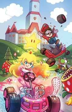 Paulina Ganucheau Draws Magical Girls, Melancholy Monsters And Mario Kart Madness