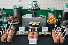 "MECHANIC dessert table | Bicycle Dessert Table - ""Geared Up"" for 40 Party"