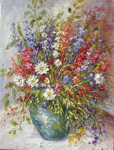 Original MADE to ORDER Oil Painting Palette от ArtPaintingsMP