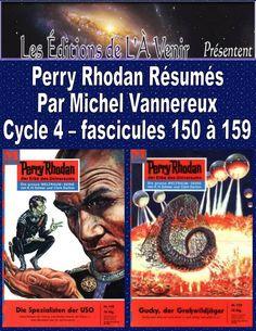 Perry Rhodan Résumés - Cycle 4 - 150 à 159