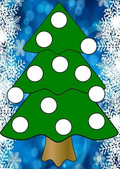 sapin 10 Winter Activities, Christmas Activities, Toddler Activities, Christmas Crafts, Diy And Crafts, Crafts For Kids, Teaching Aids, Theme Noel, Math Numbers