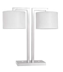 Palermo Twin with Two Shades Table Lamp