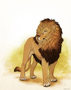Baby the Lion by Plaguedog.deviantart.com on @DeviantArt