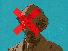 Removing John A. Macdonald. © Alexei Vella #editorial #advertising #conceptual #illustration salzmanart.com