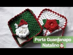 Christmas Nativity, Christmas Crafts, Christmas Ornaments, Crochet Granny, Crochet Hats, Granny Square Blanket, Christmas Crochet Patterns, Crochet Videos, Xmas Decorations