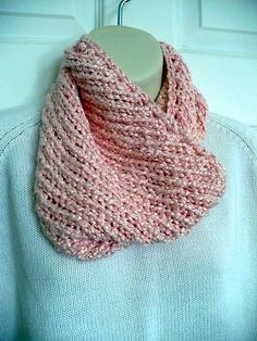 I love the drape of this bamboo cowl.