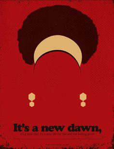 Minimalist Posters with Famous Lyrics – Fubiz Media