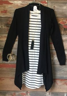 Just Another Dream Cardi: Black from privityboutique: