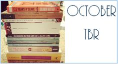 The Book of Jules: OCTOBER TBR