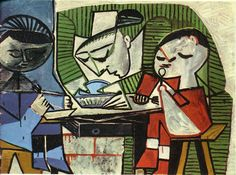 Breakfast Pablo Picasso Pablo Picasso : More At FOSTERGINGER @ Pinterest