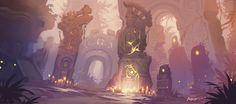 ArtStation - Rune field, Fino Feng