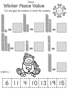 math worksheet : place value worksheets for kindergarten  thimothy worksheet : Free Math Place Value Worksheets