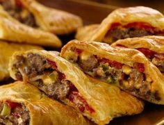 Bacon Cheeseburger Calzones #pillsbury