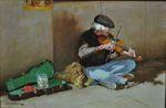 """The Fiddler"" by Hodges D. Soileau"