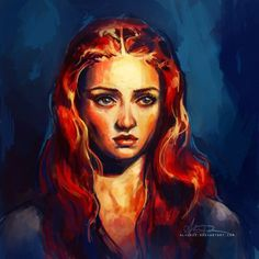 Found this Game of Thrones Tumblr site which features some fanart of characters from the show. Here are some of my faves: Daenerys by From the Deeps and Below      &nb…