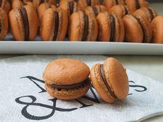 Macarons au chocolat VEGAN I recette de base