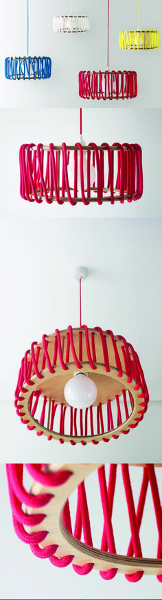 The Macaron Plywood Lamp combines simple materials with the right proportions…
