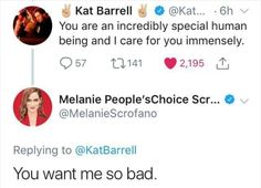 Let's not ever forget about this! Kat Barrell, Waverly Earp, Waverly And Nicole, Wyatt Earp, Carpe Diem, Funny Memes, Hilarious, Funny Posts, Funny Pictures