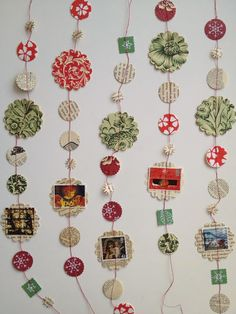 One Bunting Away: A Christmas String of Paper