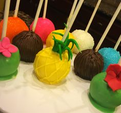 Nicole's Sugary Sweet Boutique     Hawaiian Cakepop! #nicolesugarysweetboutique #hsv #cakepops #hawaiian #hawaiiancakepops   https://www.facebook.com/nicolesugarysweetboutique/