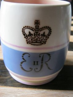 Poole Pottery Coronation Beaker Cup 1953 by Tibbycats on Etsy, £21.50