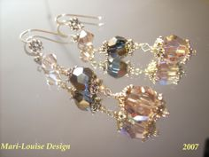 Earrings of Swarovskicrystal