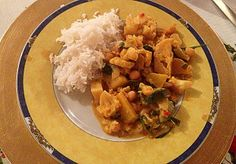 Diary of a Sauce Pot: Rachael's Recipes - Vegetarian Curry